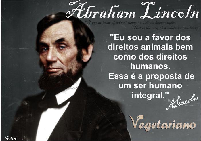 abraham-lincoln-vegetariano