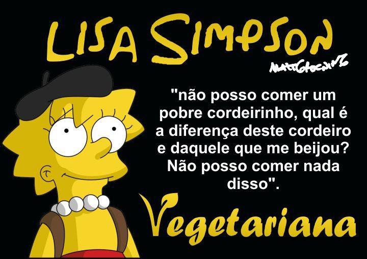 vegetariana-lisa-simpson