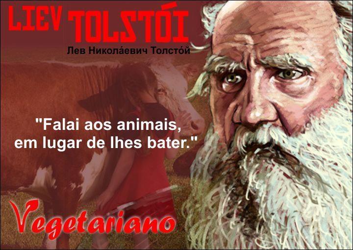 Tolstói Vegetariano