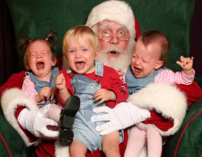 crianças chorando