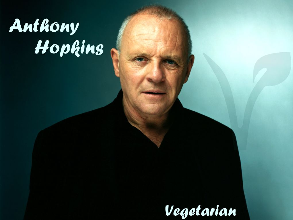 antony hopkins vegetariano
