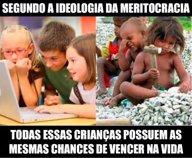 meritocracia - vencer na vida