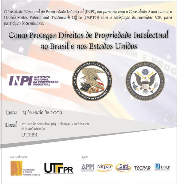 Convite - Propriedade Intelectual