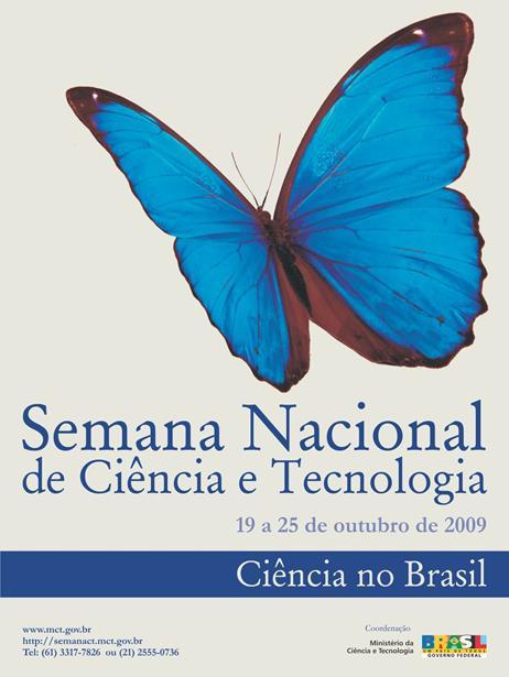 Materiais para o Ministério da Ciência e Tecnologia - Governo Federal