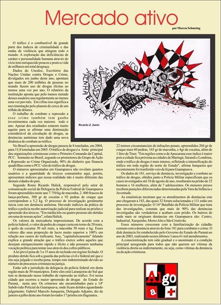 Editoração de Matéria para o Jornal Algo a +