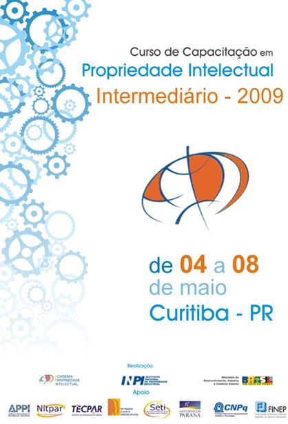 Material para o INPI - Instituto Nacional de Propriedade Industrial