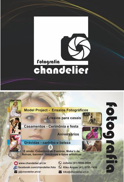 Panfleto Chandelier Fotografia