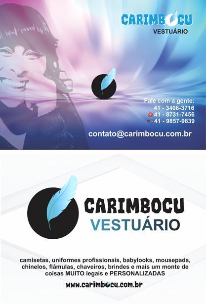 Panfleto Carimbocu Vestuário